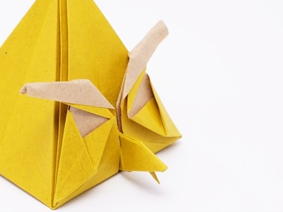 Origami Angry Yellow Bird - Time-lapse (Ryan Dong)