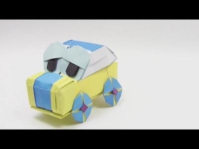 Origami BEETLE By Halle - Yakomoga Origami