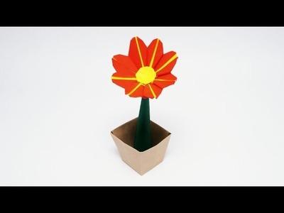 ORIGAMI DAISY FLOWER (Jo Nakashima)