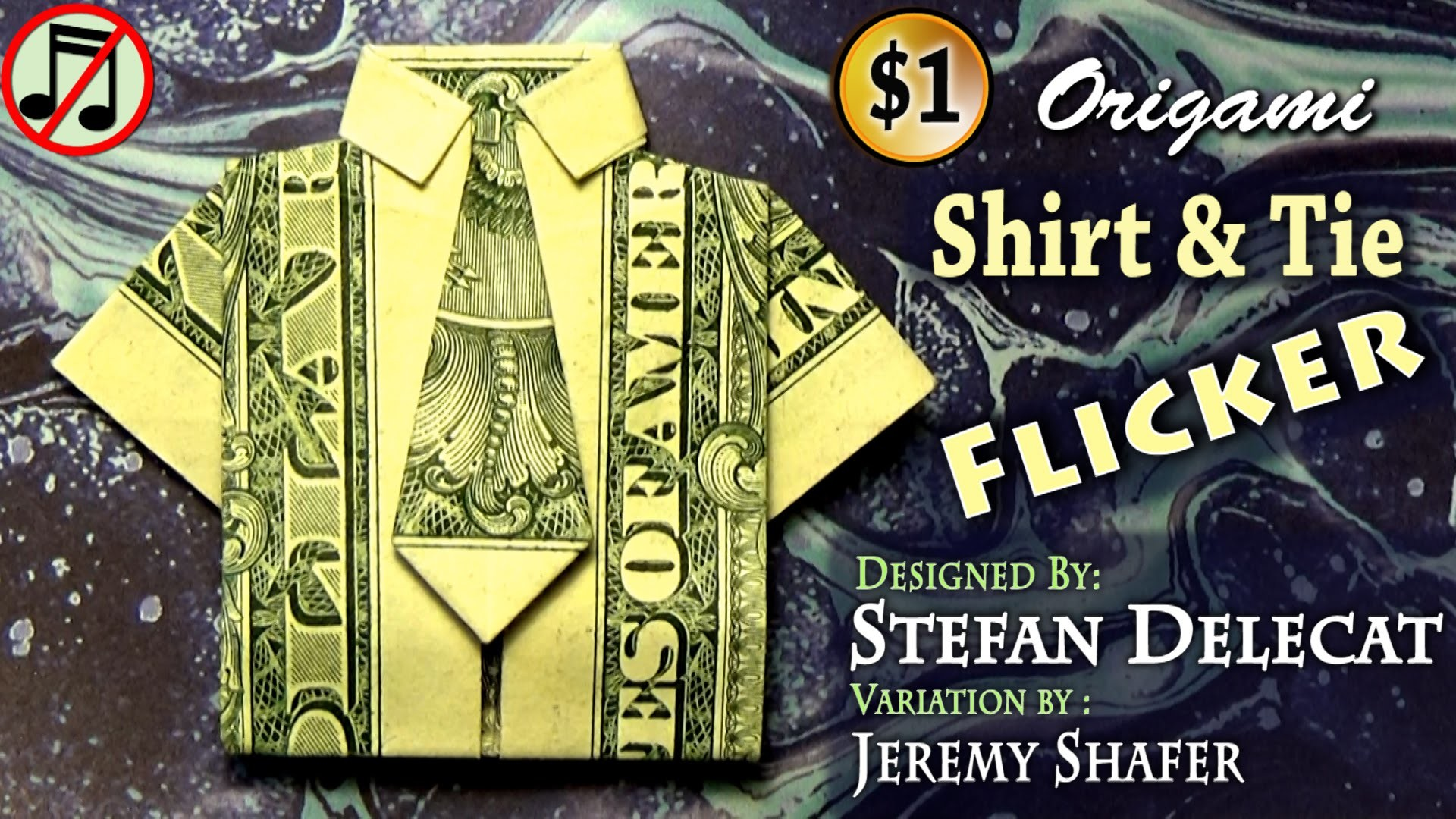 Origami Dollar Shirt & Tie Flicker - photo#46