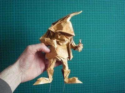 Origami Dwarf base (Eric Joisel) Tutorial