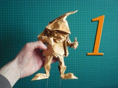 Origami Dwarf (Eric Joisel) Detail Tutorial Part 1
