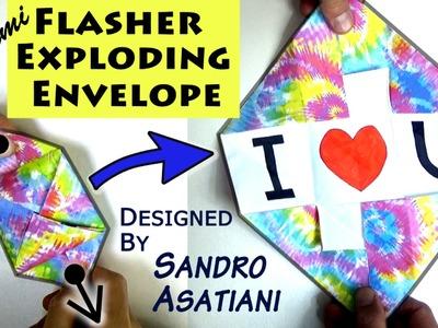 Origami Flasher Exploding Envelope (no music)