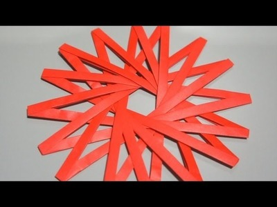 Origami Hexadecagram (Jo Nakashima)