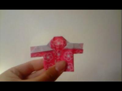 (ORIGAMI) how to make kimono remake