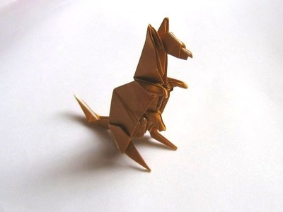 Origami Kangaroo by Peter Engel (Part 1 of 2)
