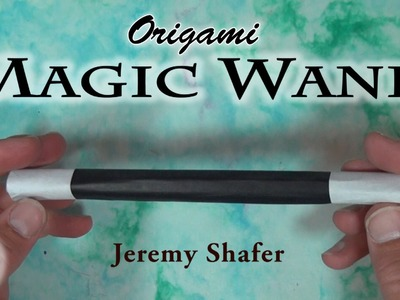 Origami Magic Wand by Jeremy Shafer (no music)