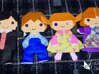 Origami Maniacs 134: The Family 1: Heads