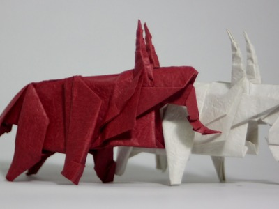 Origami sheep (origami goat.origami ram) tutorial (Henry Phạm)
