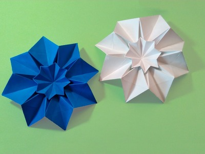 Origami Star Blessilda (designer Alphonsus Nonog). Ideas 4 room decoration