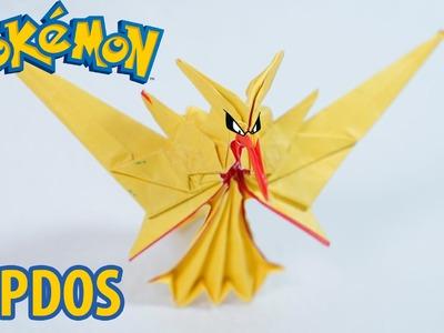 POKEMON GO - Origami Zapdos Team Instinct Tutorial (Henry Phạm)