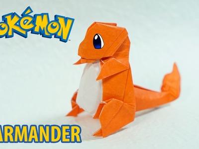POKEMON - Origami Charmander Tutorial (Henry Phạm)