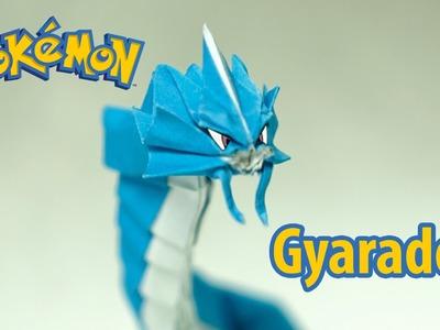 POKEMON - Origami Gyarados tutorial (Henry Phạm)