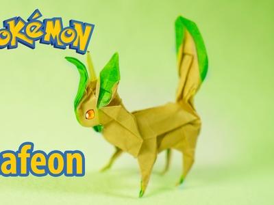 POKEMON - Origami Leafeon tutorial (Henry Phạm)