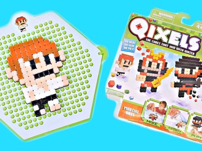 Qixels Martial Arts Kit - Pixel Cube Toy Character Creator New DCTC Toy Review 2016