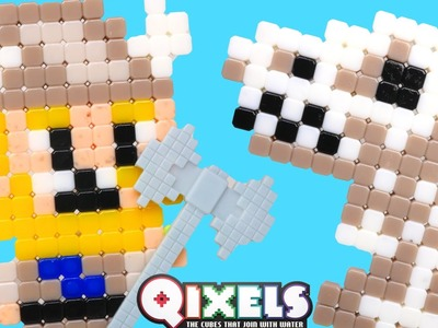 Qixels Turbo Dryer - Pixel Cube Toy Character Creator New DCTC Toy Review 2016