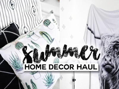 Summer Home Decor Haul. Minimal & Modern | Imdrewscott