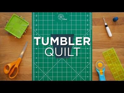 Tumbler Block - Quilt Snips Mini Tutorial