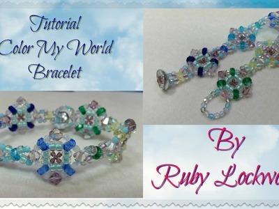 (Tutorial) Color My World Bracelet (Video 183)