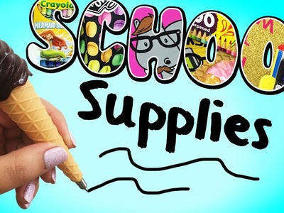 WIN the COOLEST School Supplies! ♥ BACK TO SCHOOL GIVEAWAY - CLOSED