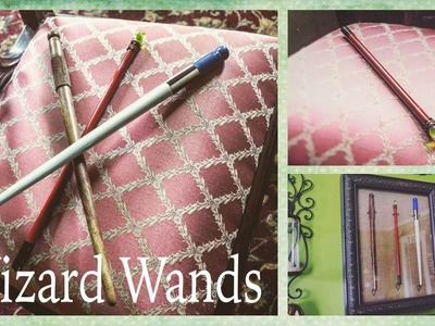 Wizards of Waverly Place Wands | Shadow Box Tutorial