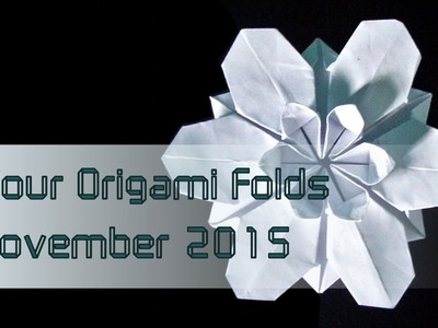 "Your Origami Folds November 2015: ""Sakura Star"" (Ali Bahmani)"