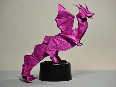 #29 Origami Dragon Heart by Fernando Gilgado (part 1 of  8)  - Yakomoga Origami tutorial