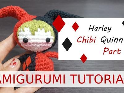 Amigurumi | Harley Chibi Quinn Part 2.3