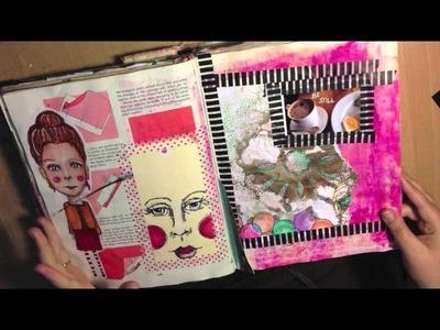 Art Journal Flip 2013 Little Raven Ink Journal