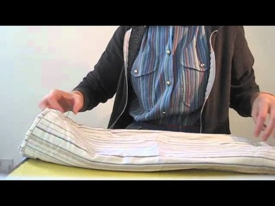 ASMR ~ fabric folding, brushing with whispers & some wood tapping at the end