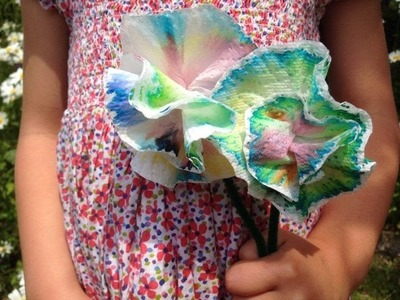 Chromatography flowers: a fun science craft activity for kids