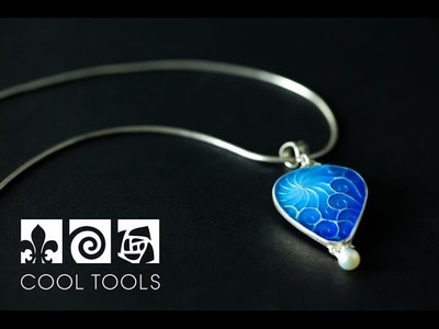Cool Tools: Basse-taille Enamel Necklace by Pam East
