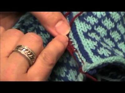 Crocheted steek