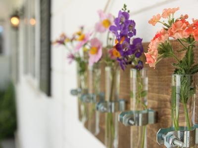 DIY Bud Vase Holder