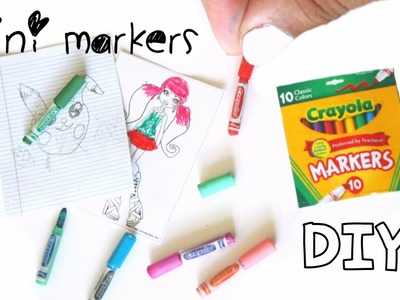 DIY miniature markers ( REALLY WORK)