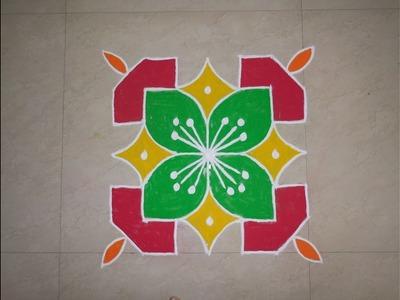 Dot's Rangoli Design 7 by 7 (NEW)