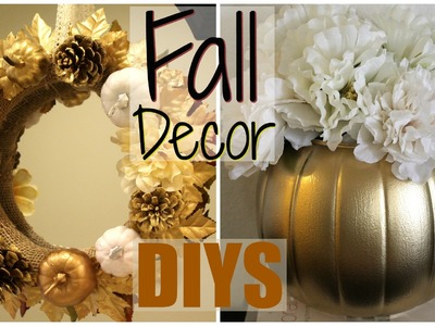 Fall Decor DIYs - Dollar Store!