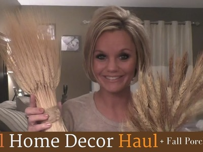 Fall Home Decor Haul