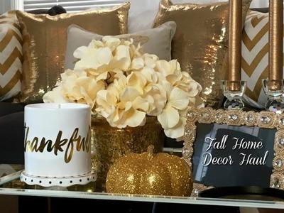 Fall Home Decor haul| Homegoods, TJmaxx, Zgallerie, Target and Hobby Lobby