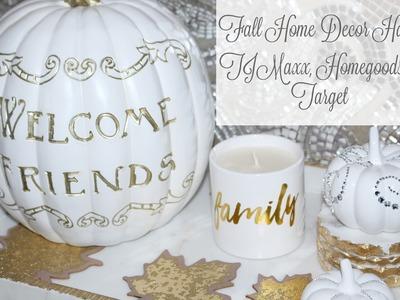 Fall Home Decor Haul | TJMaxx, Home Goods & Target
