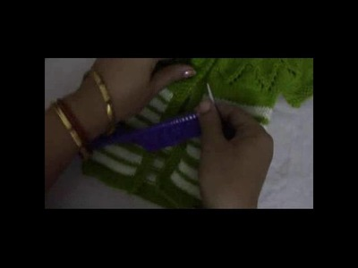 HINDI | LEAF PATTERN SWEATER PART -2