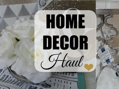 Home Decor Haul March 2016