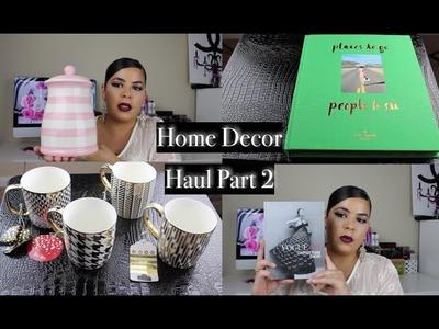 Home Decor Haul Pt. 2| Marshalls & Homegoods