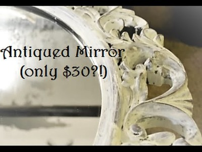 How to Antique a Cheap Plastic Mirror