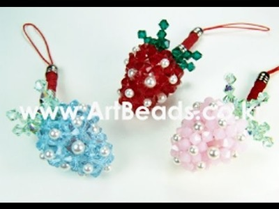 How to bead a Strawberry part 3 -kết quả dâu