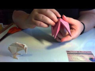 How to make an Origami Kiwi