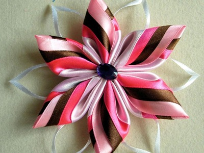 Kanzashi #2 - Multicolour petal (Better quality)