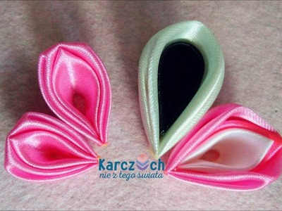 Kanzashi #20 - Two versions of one petal