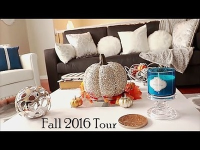 Living & Dining Room Tour | Fall 2016 | Dose of Diana