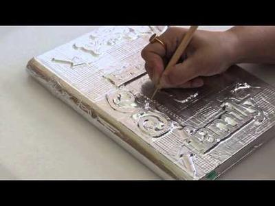 Metal Art   Altered Journal Tutorial